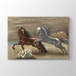 Giorgio de Chirico - Atlar Tablosu