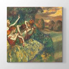 Edgar Degas - Dansçılar Tablosu