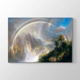 Frederic Edwin Church - Tropik Yağmur Tablosu