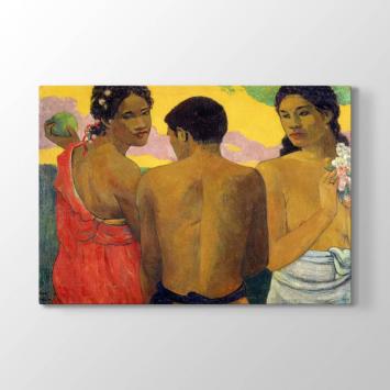 Paul Gauguin - Tahitililer Tablosu