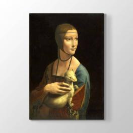 Leonardo da Vinci - Erminli Kadın Tablosu
