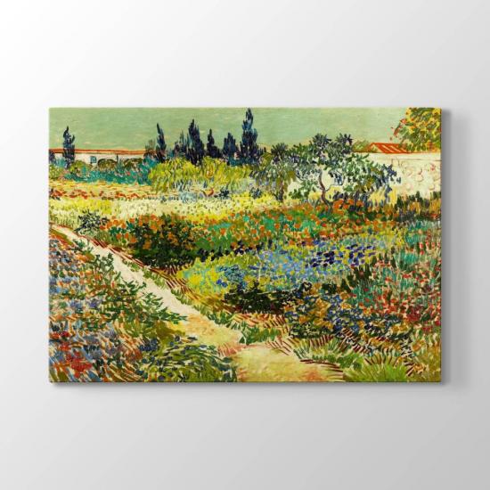 Vincent van Gogh - Çiçek Bahçesi Tablosu