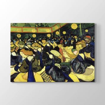 Vincent van Gogh - Dans Salonu Tablosu