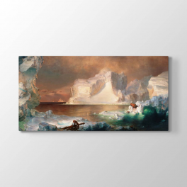 Frederic Edwin Church - Buzdağları Tablosu