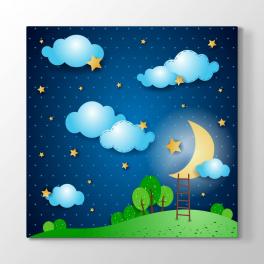 Ay ve Yıldızlar Tablosu