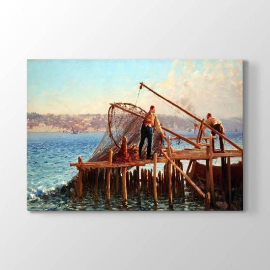 Fausto Zonaro - Balıkçılar Tablosu