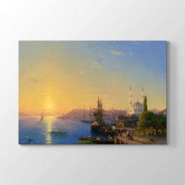 İvan Ayvazovski - İstanbul ve Boğaz Tablosu