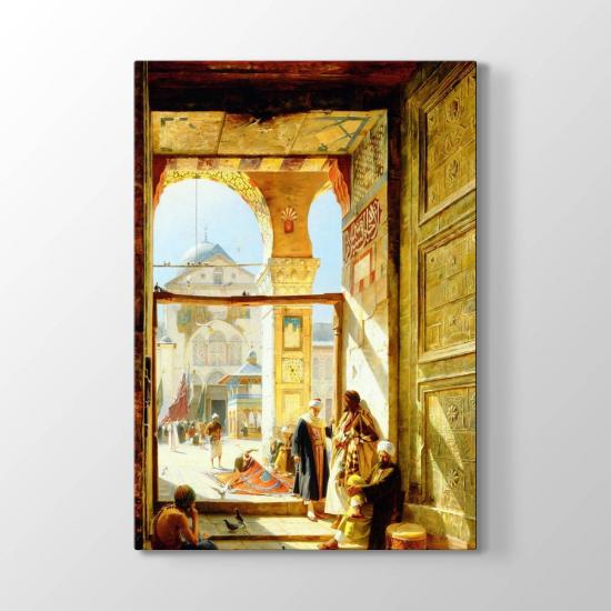 Büyük Emevi Camii'nin Kapısı Tablosu