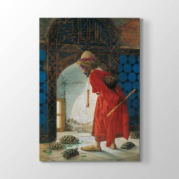 Osman Hamdi Bey - Kaplumbağa Terbiyecisi Tablosu