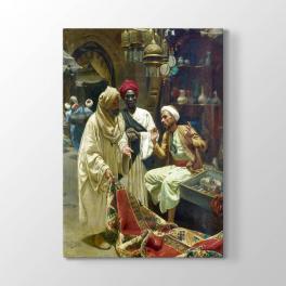 Osmanlıda Halı Satıcısı Tablosu
