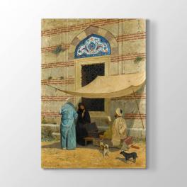 Osman Hamdi Bey - Cami Önünde Arzuhalci Tablosu