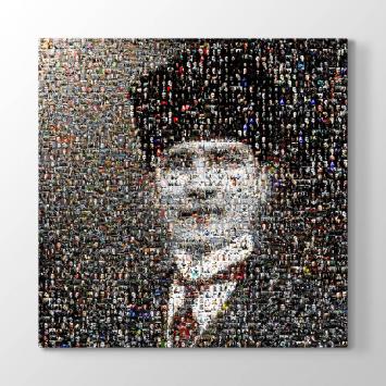 Atatürk Kolaj Resimler Tablosu