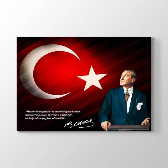 Atatürk Sözleri Tablosu