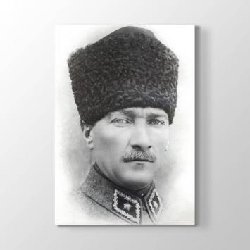 Kalpaklı Atatürk Resmi Tablosu