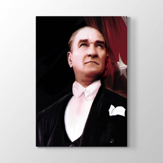 Atatürk Yağlıboya Çizim Tablosu
