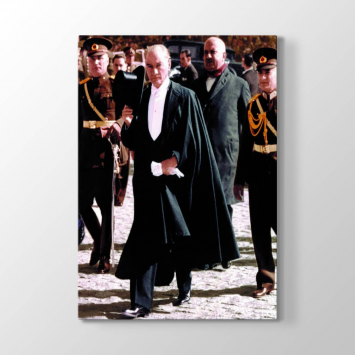 Atatürk Selamlama Tablosu