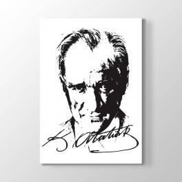 Atatürk Vektörel Çizim Tablosu