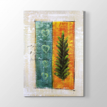 Çam Ağacı Çizim Tablosu