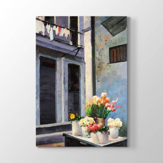 Balkon Çiçekleri Tablosu
