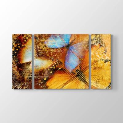 Soyut Kelebekler Tablosu