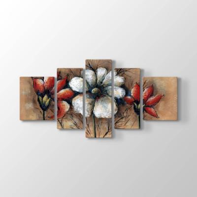 Dekoratif Çiçekler Tablosu