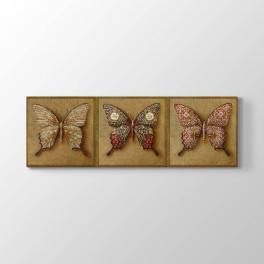 Dekoratif Kelebekler Tablosu
