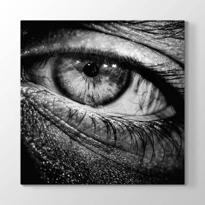 Siyah Beyaz Göz Tablosu