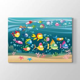 Denizaltı Balıklar Tablosu