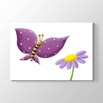 Çiçek ve Kelebek Tablosu