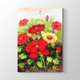 Dalında Çiçekler Tablosu