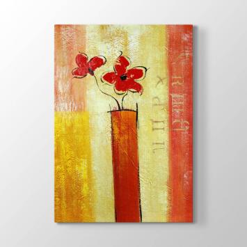 Modern Çiçek Tablosu