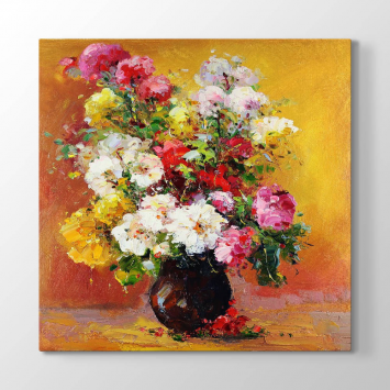 Çiçek ve Vazo Tablosu