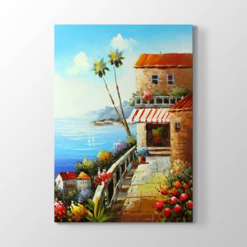 Palmiyeler ve Deniz Tablosu
