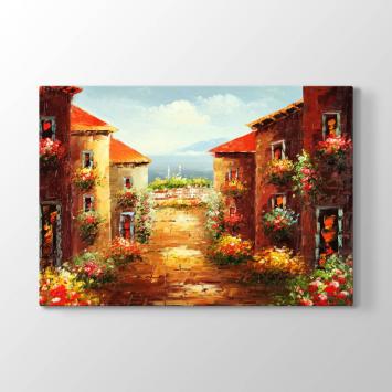 Çiçekli Mahalle Tablosu