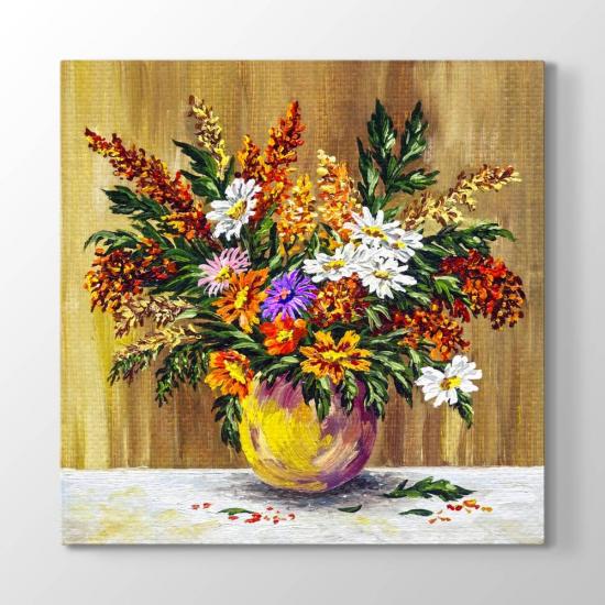 Vazodaki Çiçekler Tablosu