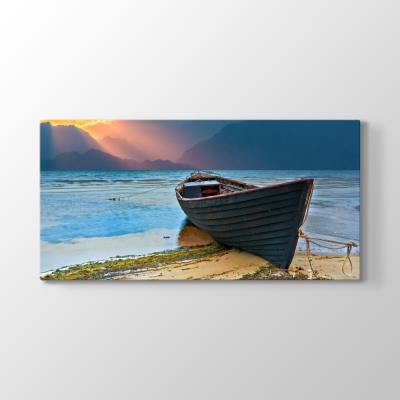 Eski Balıkçı Teknesi Tablosu