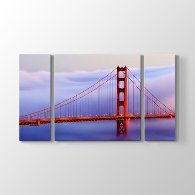 San Francisco - Golden Gate Köprüsü Tablosu