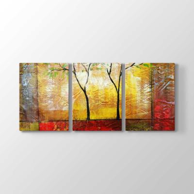 Soyut Tasarım Ağaçlar Tablosu