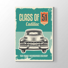 Klasik Cadillac 51 Model Tablosu