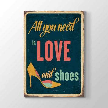 Aşk ve Ayakkabılar Tablosu