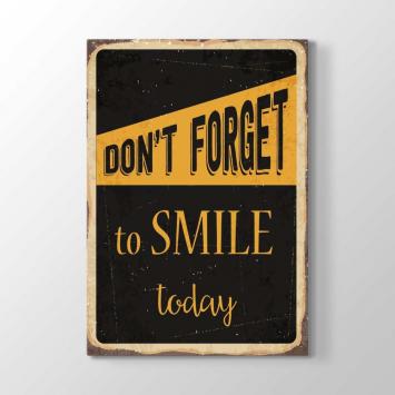 Gülmeyi Unutma Bugün Tablosu