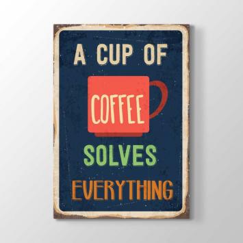 Bir Fincan Kahve Tablosu